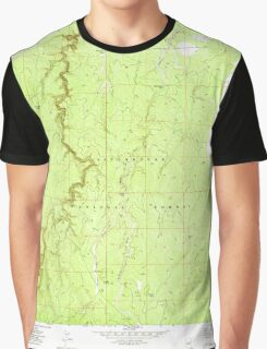 USGS TOPO Map Arizona AZ Potato Wash South 312969 1971 24000 Graphic T-Shirt