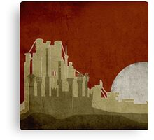 Game Of Thrones - Kings Landing Canvas Print