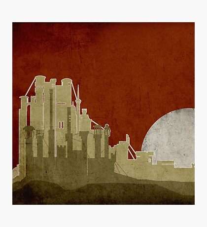 Game Of Thrones - Kings Landing Photographic Print