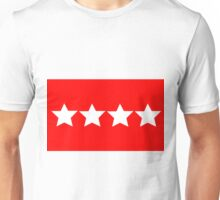 US Army General - Rank Flag Unisex T-Shirt