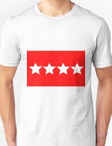 US Army General - Rank Flag T-Shirt