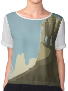 Game Of Thrones - The Eyre Chiffon Top