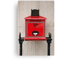 Hungary Mailbox Canvas Print