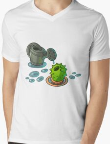 Thirsty Cacti Mens V-Neck T-Shirt
