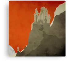 Game Of Thrones - Dragonstone Canvas Print