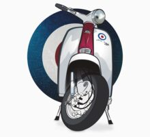 Mod Lambretta by collibosher