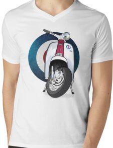 Mod Lambretta Mens V-Neck T-Shirt
