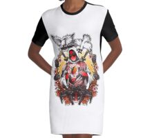 Deadpool Graphic T-Shirt Dress