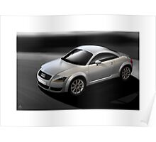 Poster artwork - Audi TT coupe Poster
