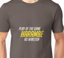Play of the game - Harambe Unisex T-Shirt