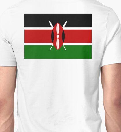 KENYA, Flag of Kenya, Swahili, Bendera ya Kenya, African Flags, Africa Unisex T-Shirt