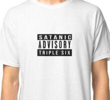 Satanic Advisory  Classic T-Shirt