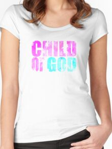 Child Of God Women's Fitted Scoop T-Shirt