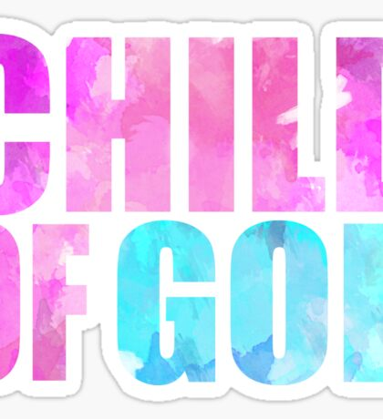 Child Of God Sticker