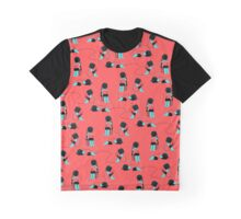 wired pink Graphic T-Shirt