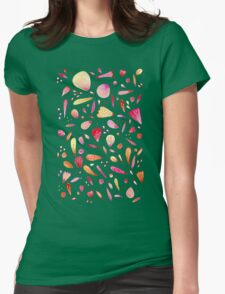 Petals Womens Fitted T-Shirt