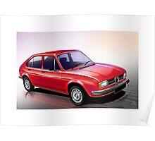 Poster artwork - Alfa Romeo Alfasud Poster