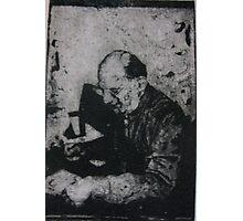 The Poet (Allen Ginsberg) Photographic Print