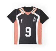 """Haikyuu!!"" - Kageyama Jersey Graphic T-Shirt"