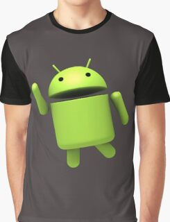 Android Robot Graphic T-Shirt