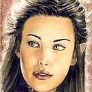Liv Tyler miniature by wu-wei