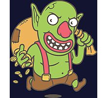 CLASH OF CLANS GOBLIN Photographic Print