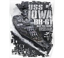 Battleship Iowa Poster