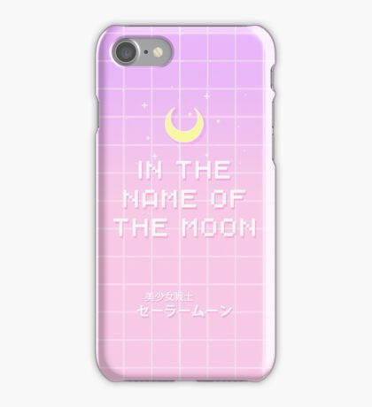 Sailor Moon - 'In the name of the Moon' iPhone Case/Skin
