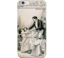 Performing Arts Posters For her childrens sake by Theo Kremer the companion play to The fatal wedding 0058 iPhone Case/Skin