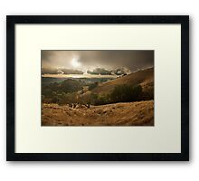 Season's First Rain Framed Print