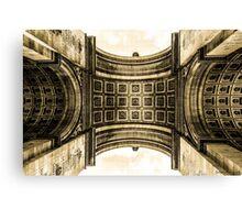Arc De Triomphe 8 Canvas Print