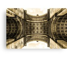 Arc De Triomphe 8 Canvas Print