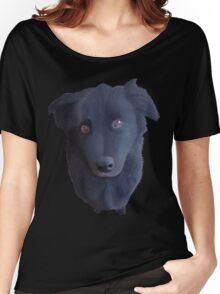 Portrait of my Dog (Original) Women's Relaxed Fit T-Shirt