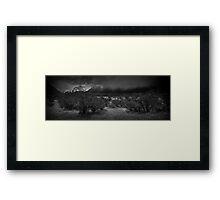 Middle Earth Plain Framed Print