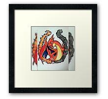 Mega Charizard Roar  Framed Print