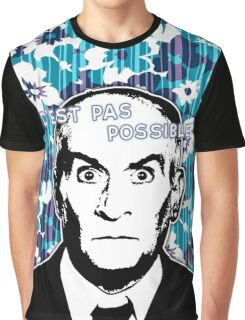 C'est Pas Possible Louis De Funès Graphic T-Shirt