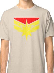 Distressed Super Heroine Classic T-Shirt