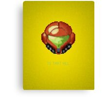 Metroid - Samus Canvas Print