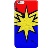 Distressed Super Heroine Case iPhone Case/Skin