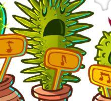 Cacti Choir Sticker