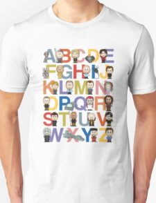 Through the Wormhole Alphabet Unisex T-Shirt