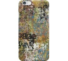 Grunge Alphabet iPhone Case/Skin