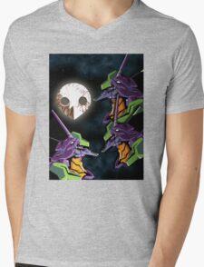 3 EVA Angel Mens V-Neck T-Shirt