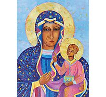 Black Madonna Poland, Black Madonna of Czestochowa, Our Lady of Czestochowa Photographic Print