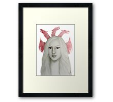 The Dragon Queen Framed Print