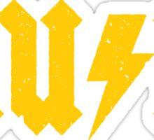 MUSIC (yellow) Sticker