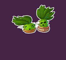 cute cacti couple ouline Unisex T-Shirt