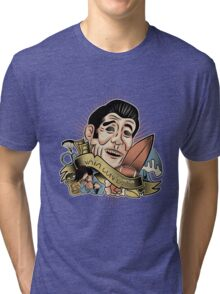 Vaya Con Dios — He's Not Coming Back Tri-blend T-Shirt