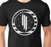 Skrillex US Flag Logo Unisex T-Shirt