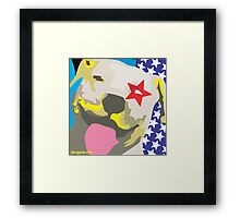 All-American Pit Bull Framed Print